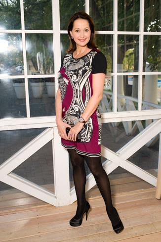 Всего через месяц после родов Ольга Кабо в прекрасной форме