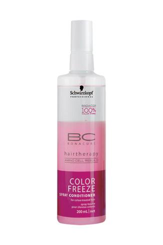 Schwarzkopf Professional, спрей-кондиционер для окрашенных волос BC Color Freeze, 620 руб.