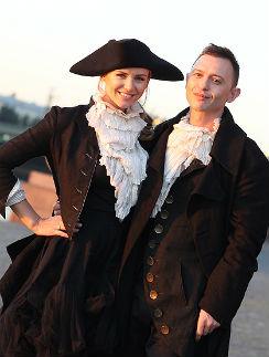 Роман Билык с женой Мариной Королевой