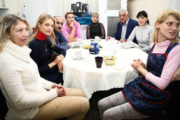 Сестра Натальи Оксана страдает аутизмом и ДЦП