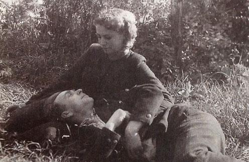 Бабушка и дедушка Анны Ковальчук