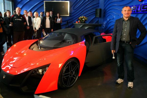 Николай собирался наладить производство спортивных автомобилей в России