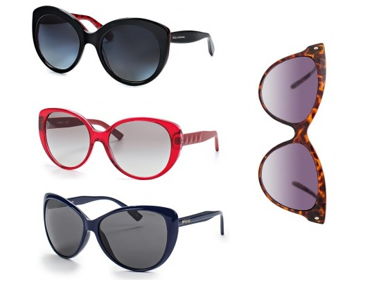 Сверху вниз: Dolce&Gabbana, DKNY, Polaroid. Справа: Mango