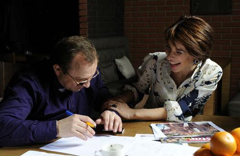 Вячеслав Дениченко и Анна Иотко радовались за счастливое будущее Фриске