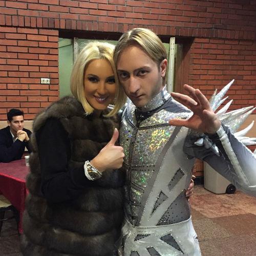 Лера Кудрявцева и Евгений Плющенко