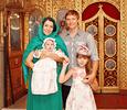 Футболист Роман  Павлюченко крестил  младшую дочь