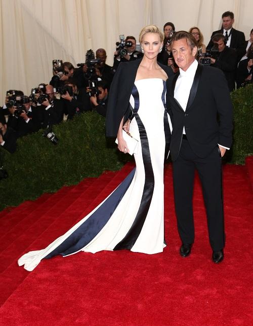 Шон Пенн и Шарлиз Терон в Dior