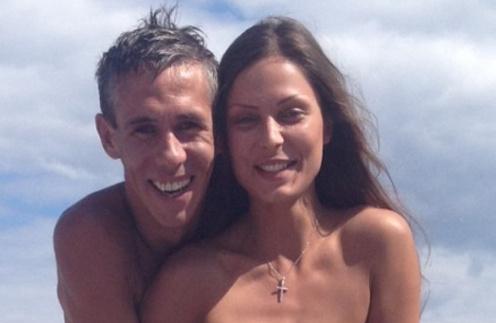 Алексей Панин с женой Людой