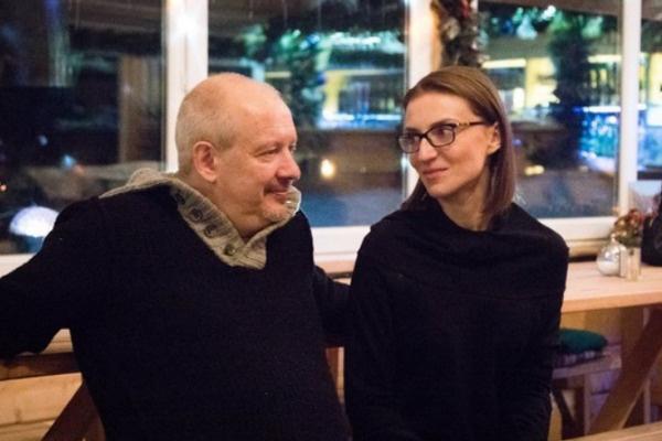 Дмитрий Марьянов с супругой Ксенией