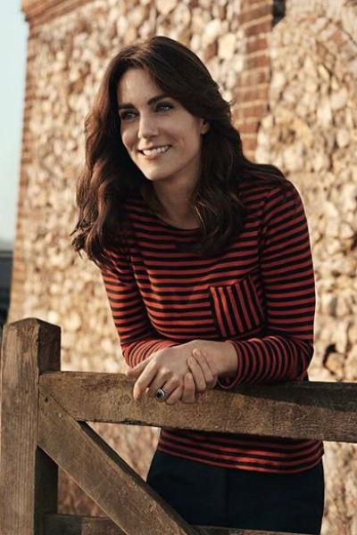 Кейт Миддлтон в фотосессии для Vogue