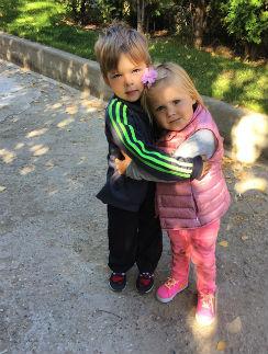 Дочка Натальи Ионовой Вера и сын Артема Фадеева Тимофей