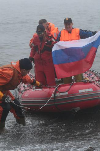 Высадка на остров Сергея Капицы