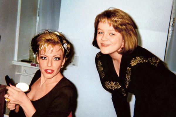 По словам Началовой, благодаря советам Понаровской она сильно похудела в юности, 90-е
