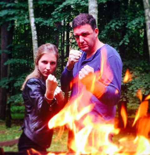 Максим Виторган и Полина