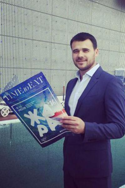 Эмин Агаларов открыто общается с журналистами