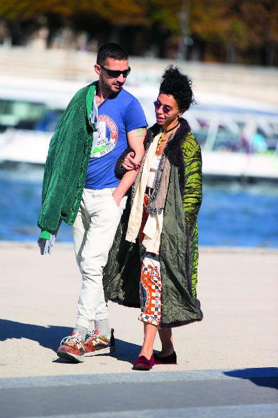 Шайа ЛаБаф недавно окончательно разорвал отношения с женой, и теперь встречается с бывшей девушкой Роберта Паттинсона