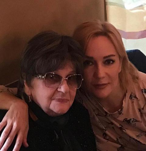 Татьяна Буланова с мамой Ниной Павловной