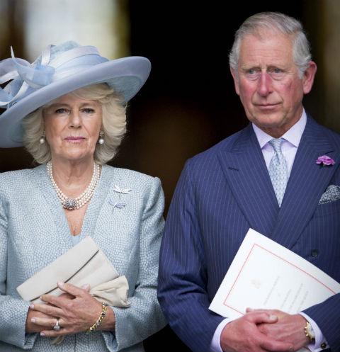 Камилла Паркер-Боулз и принц Чарльз
