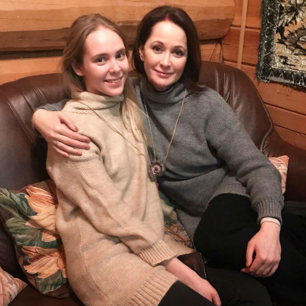 Ольга Кабо с дочерью Татьяной