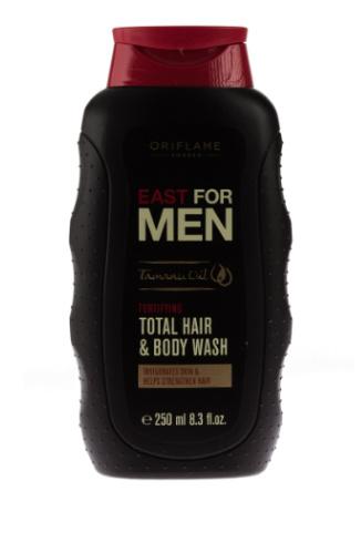 Oriflame Шампунь для волос и тела East for Men, 240 руб.