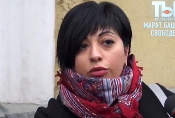 Нелли Макарова является представителем Елизаветы Башаровой в суде