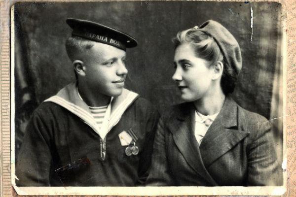 Первое общее фото влюбленных, 1948 год