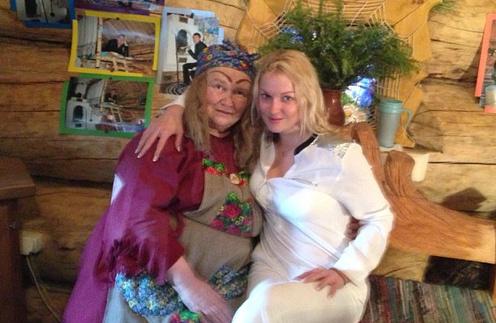 Баба-Яга и Анастасия Волочкова