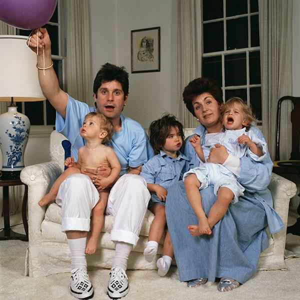 В браке у Оззи и Шэрон Осборн родилось трое детей