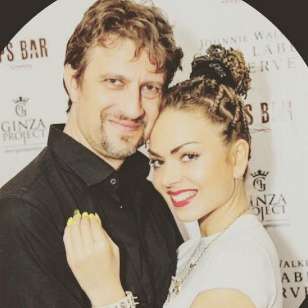 Оксана с супругом Алексеем