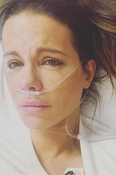 Кейт Бекинсейл попала в больницу