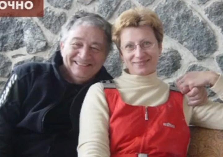 Успенский с третьей супругой Элеонорой Филиной