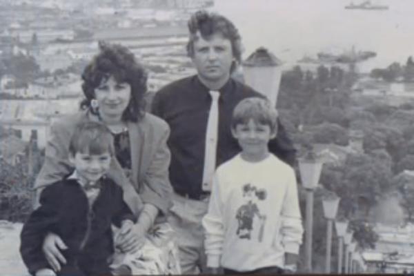 Сергей показал на программе фото из семейного архива