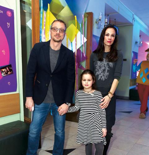 Алексей Макаров, Виктория Богатырева и их дочь Варвара