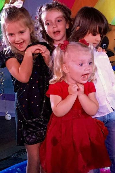 Дети Пугачевой с первых месяцев жизни отличались коммуникабельностью