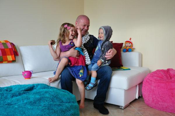 Актер признался, что дети придают ему силы