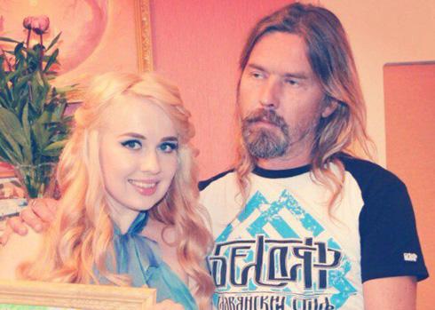 Сергей Троицкий с дочерью Екатериной