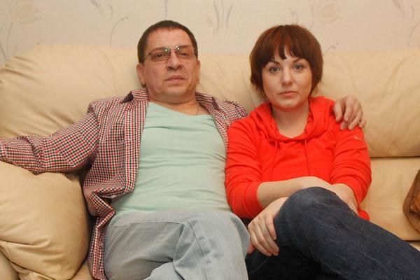Игорь Арташонов с супругой Кристиной Рубан