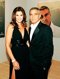 Джордж Клуни и Синди Кроуфорд - просто друзья