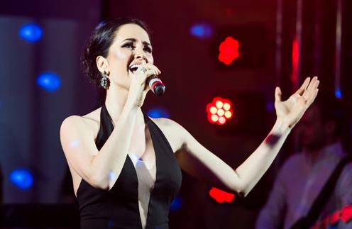 Певица Catrine