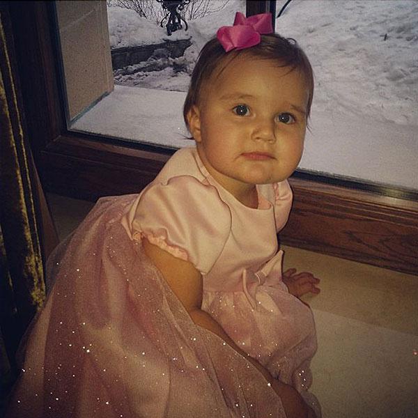 В свой первый праздник Клава была настоящей принцессой