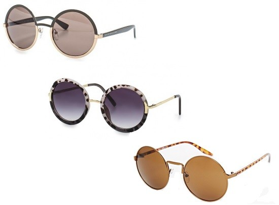 Сверху вниз: Marc by Marc Jacobs, Top Shop, AJ Morgan Eyewear