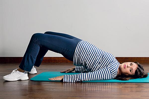 6. Упражнение на бедра и ягодицы