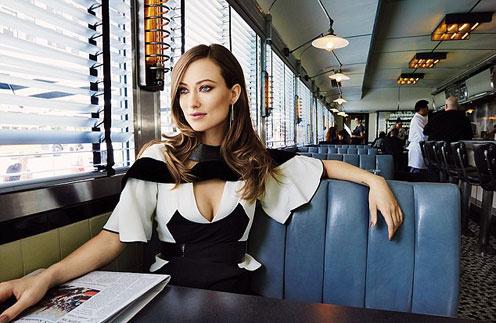 Оливия Уайлд в фотосессии для журнала