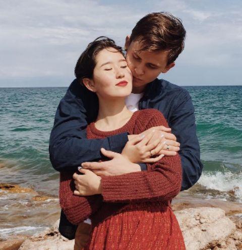Дочь Алмазбека Атамбаева Алия Шагиева с мужем