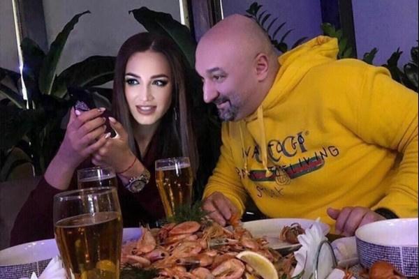 Бузова в собственном ресторане