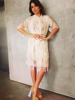 Тина Канделаки примерила свадебное платье