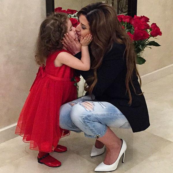 По признаниям звезды, ее вторая беременность - когда она носила под сердцем дочку Маргариту - была самой спокойной
