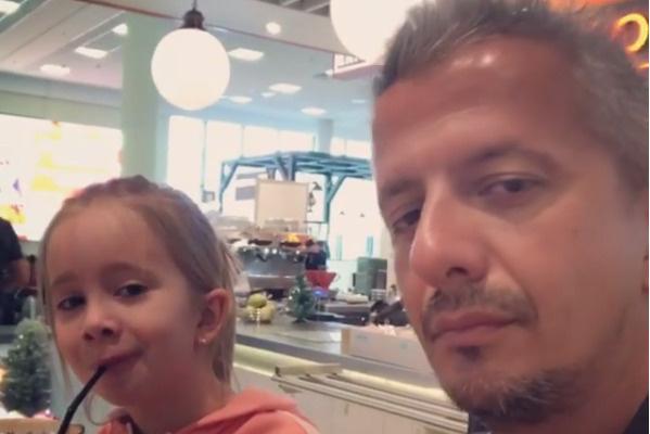 Режиссер с дочерью Анной