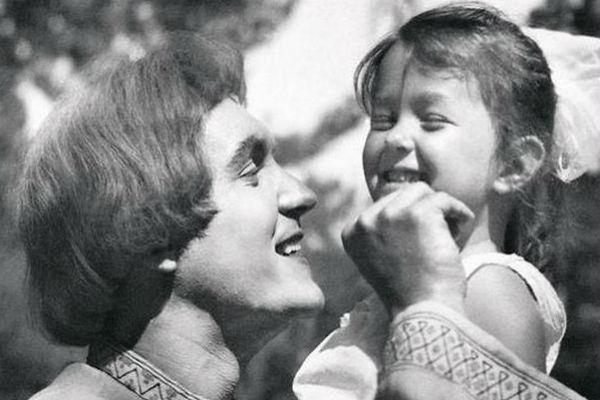 Эдуард Изотов с дочерью Вероникой