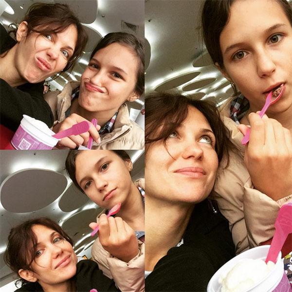 Екатерина Климова весело проводит время вместе с дочкой Лизой